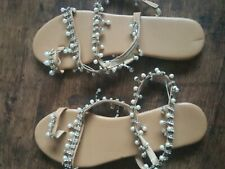 Woman's Beaded Sandals 7