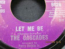 Rhythm Of The Rain & Let Me Be - The Cascades - Valiant Records 45RPM