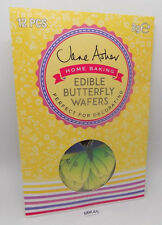 Jane Asher Edible Butterfly Wafers for Cake Decoration - Pack of 12 Wafers