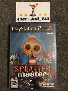 Playstation 2 Game: Splatter Master (Superb Factory Sealed Condition) UK PAL PS2