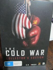COLD WAR COLLECTOR'S ED MASSIVE 12 HOURS Korean Vietnam Wars 5 x DVD DISCS