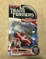 Transformers Specialist Ratchet Figure Toy Dark Of The Moon DOTM Deluxe Class