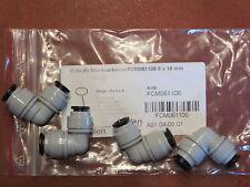5 Stück Cobrafit Winkel Steckverbinder FCM061106     8 x 10 mm
