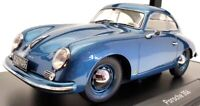 Norev 1/18 Scale Model Car 187450 - 1954 Porsche 356 - Met Blue