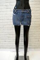 SUNDEK Gonna in Jeans Donna Taglia 42 Skirt Women's Minigonna Copricostume