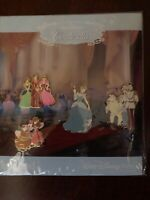 Disney Parks Cinderella, Step-Sisters, Prince, Gus 4 Pin Booster Set NEW