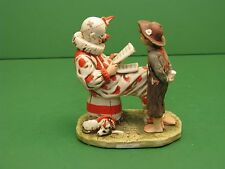 Norman Rockwell Saturday evening post Figurine 1975 Dave Grossman Circus