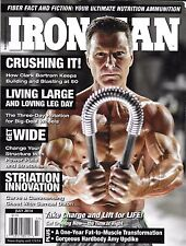 Ironman muscle magazine Workouts Training Power pulls and stretches Legs Chest