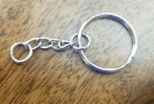 Key Ring with 1' Chain, 25mm, Bag of 100