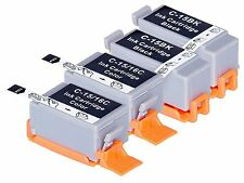 4 pack BCI-15 BCI-16 ink cartridge for Canon Pixma IP90 IP90V i70 i80