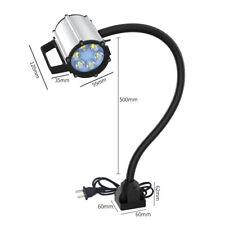 New listing Cnc Machine Lamp Working Light Magnetic Base Gooseneck Work Lathe Led 5W 500mm