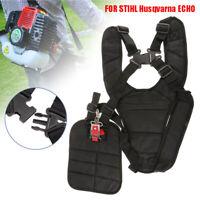 Strimmer Padded Belt Shoulder Harness Strap for STIHL ECHO Brushcutter Trimmer