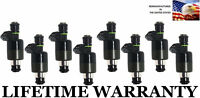 OEM 6 Hole  Set of 8 Fuel Injectors For GMC Chevy 96-00 P30 K3500 K2500 7.4L