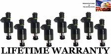 OEM Set of 8 Fuel Injectors For GMC Chevy 96-00 P30 K3500 K2500 7.4L