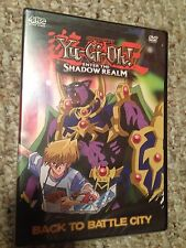 NEW SEALED Yu-Gi-Oh Enter the Shadow Realm Vol 1 Back to Battle City DVD OOP 3.1