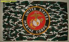 3'x5' US Marine Corps Camouflage Flag Camo USMC Veteran Military Patriotic 3x5