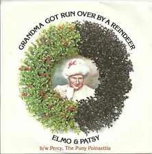 Elmo & Patsy - Grandma Got Run Over By A Reindeer Epic Records 1984