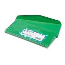 Quality Park 11135 Colored Envelopes, Traditional, #10, Green, 25/Pk ~ Free S/H