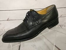 MEZLAN NOCi Black Leather Split Toe Dress Oxfords Shoes MENS US 8.5 M 27465
