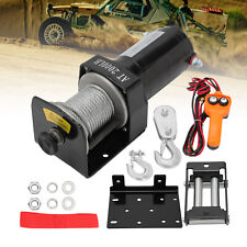More details for electric winch 12v2000 lb heavy duty machine tool trailer tool