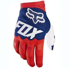 Pop Men MTB Cycling Bicycle Bike Motorcycle Glove Offroad Full Finger Fox Gloves Style1 Blue M