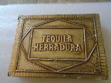 Herradura Tequila  Wood Gift/Box PAPER / NOTES HOLDER OFFICE RARE AMAZING