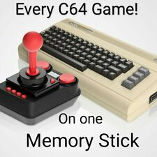 Over 10'000 Games For The C64 Mini / Maxi On One Memory Stick.   Plus firmware.