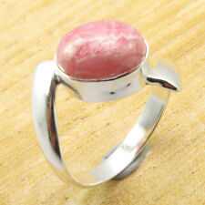 Real Rhodochros?ite Size 7.5 Ring ANTIQUE LOOK Silver Plated Jewelry BRAND NEW