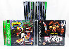 USED Sony Playstation 1 PS1 Greatest Hits Black Label Games Retro Vintage 98-02'