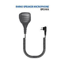 Rhino Shoulder Microphone for Motorola Bpr40 Cp200 BearCom Bc95 Bc130 Bc90 Dtr