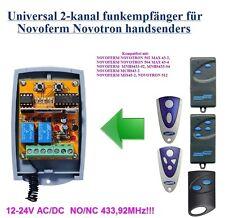 NOVOFERM NOVOTRON 502, 504, MAX43-2, kompatibel universal 2-kanal Funkempfänger