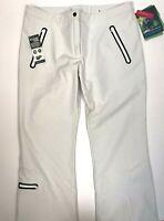 AFRC Womens Ski Snowboard Pants Waterproof Schoeller Softshell Size 18 New $111