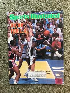 July 23,1984 Sports Illustrated Magazine Michael Jordan