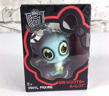 "Monster High Sir Hoots A Lot vinyl figure Mattel 3"" boxed"