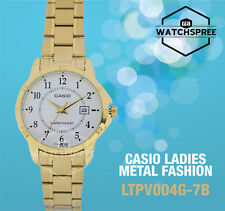 Casio Ladies' Analog Watch LTPV004G-7B LTP-V004G-7B