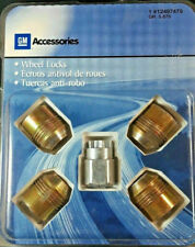 NEW GENUINE OEM GM CHEVROLET C K 1500 2500 RIM WHEEL LOCKS LOCK LOCKING LUG NUTS