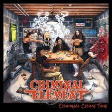 CRIMINAL ELEMENT - Criminal Crime Time - LP DEATH Metal Suffocation