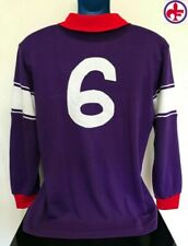 Fiorentina, Matchworn Argentina PASSARELLA 1984/85 Football Shirt Soccer Jersey