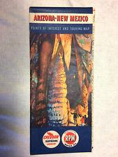New ListingVintage 1940s Arizona-New Mexico Touring Map Chevron Oil Company
