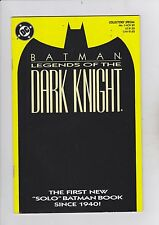 DC Comics! Batman! Legends of the Dark Knight! Issue 1! Collectors Special!