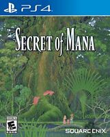 Secret of Mana Sony PlayStation 4 - Standard Edition PS4 Brand NEW Sealed