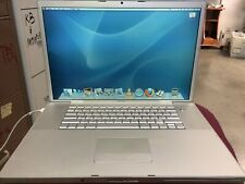 """MacBook Pro 17"""" A1261 Core 2 Duo 2.6GHz 4GB RAM 500GB HDD AC / no battery READ"""