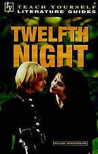 Teach Yourself English Literature Guide Twelfth Night (Shakespeare) (TYEL), Buza