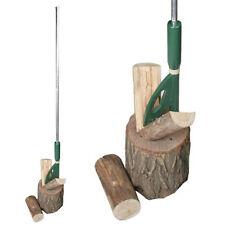 Easy Wood Spaccalegna manuale in metallo taglia legna con cuneo incluso 3001