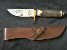 Whitetail Cutlery 4 1/2 inch TROPHY PLUS Stag Handle