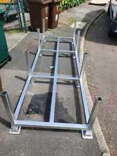 More details for steel stillage,metal post pallet, stackable, post pallet, heavy duty