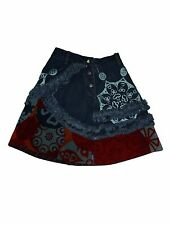 Toddler Girl  Oilily Denim Corduroy A Line Skirt Size 92 (2T/3T)