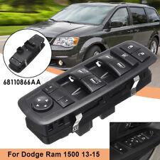 Front Door Left Side Master Window Switch 68110866AA For 13-15 Dodge Ram 1500