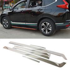 fits 2017-2020 Honda CR-V Stainless Steel Body Side Door Molding Cover Trim 6pcs