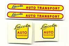 Lincoln Toys Auto Transport Decal Set - Small